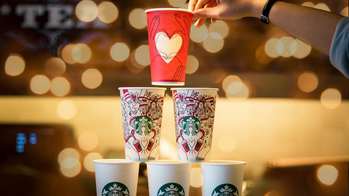 Starbucks Invests $100 Million!